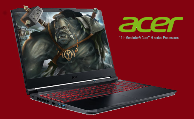Acer launches Nitro 5 with 11th Gen Intel® Core™ H-series P