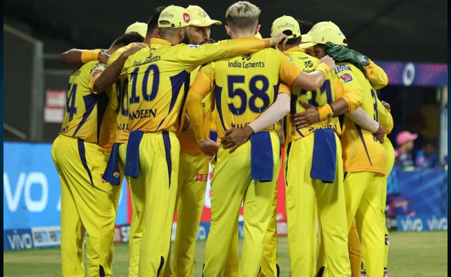 3 CSK IPL non- player contingent members test COVID-19 +ve