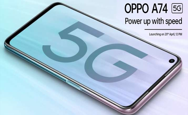 OPPO to unveil A74 5G, first phone under INR 20,000