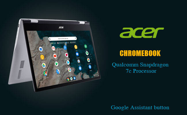 Acer announces its Chromebook with the Qualcomm Snapdragon 7c