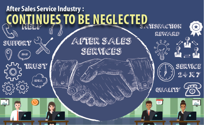 After Sales Service Industry : Continues To Be Neglected