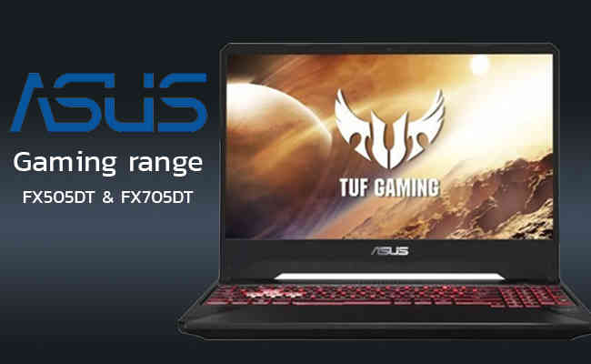 ASUS TUF Gaming range with FX505DT and FX705DT