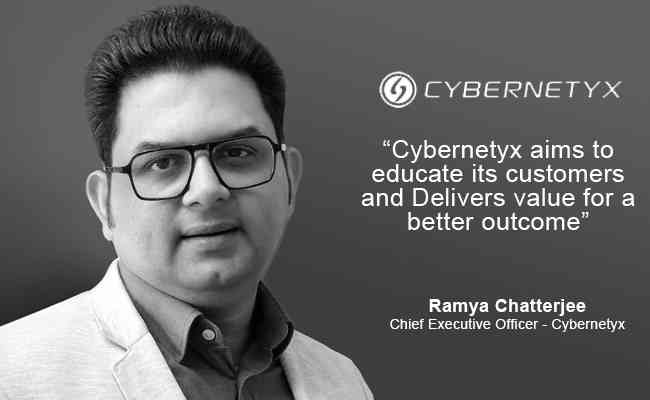 Cybernetyx aims to educate its customers and Delivers  value for a better outcome
