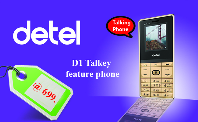 Detel-unveils-D1-Talkey-feature-phone-in-India-for-Rs-699