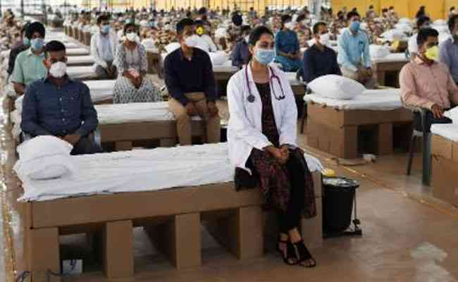 Delhi opens one of the world's largest hospitals to fight coronavirus