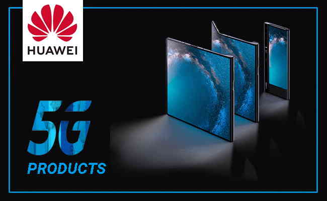 Huawei brings a range of new 5G products
