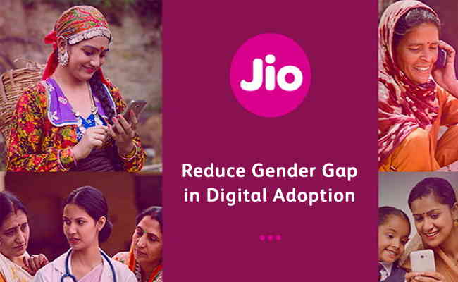 Jio's commitment to reduce gender gap in digital adoption