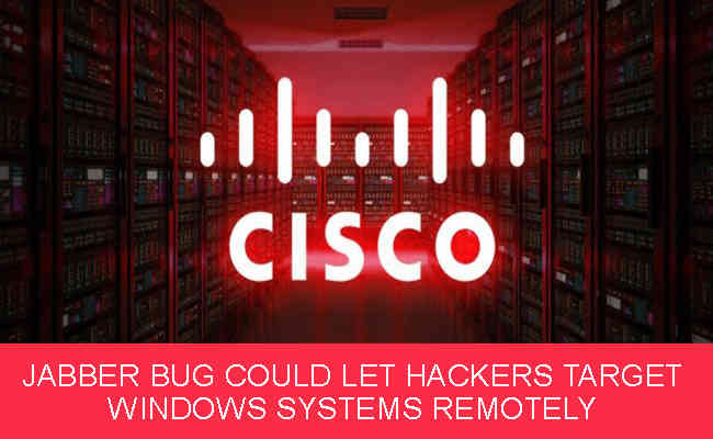 Jabber Bug Could Let Hackers Target Windows Systems Remotely