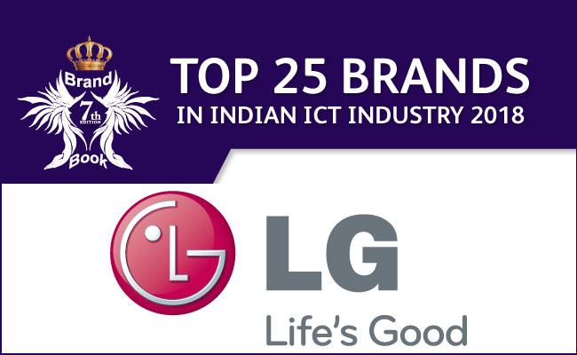 MY BRAND BOOK Top 25 Brands 2018: LG Electronics