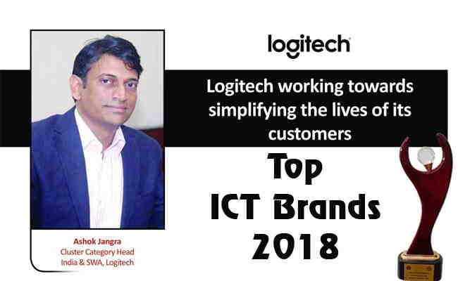 TOP ICT BRANDS 2018: LOGITECH