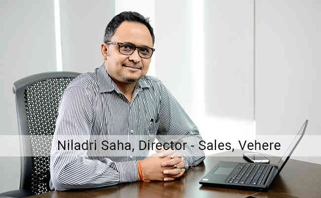 Vehere appoints Niladri Saha as Director, Sales