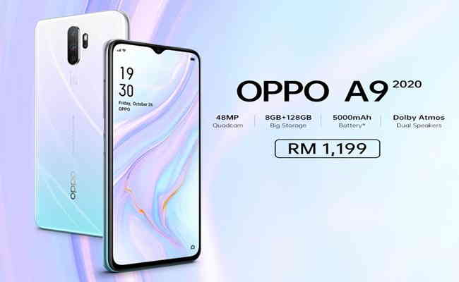 OPPO unveils new Vanilla Mint color variant of the A9 2020