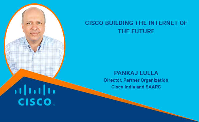 Cisco building  the internet of  the future