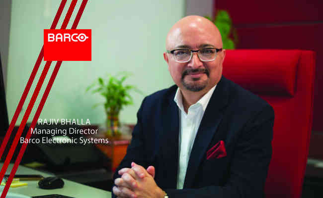 Rajiv Bhalla, Managing Director -  Barco Electronic Systems