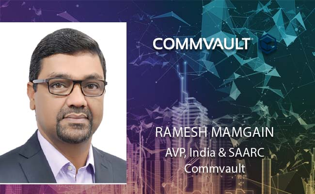 At Commvault's core  lies innovation and its  'Be Ready'