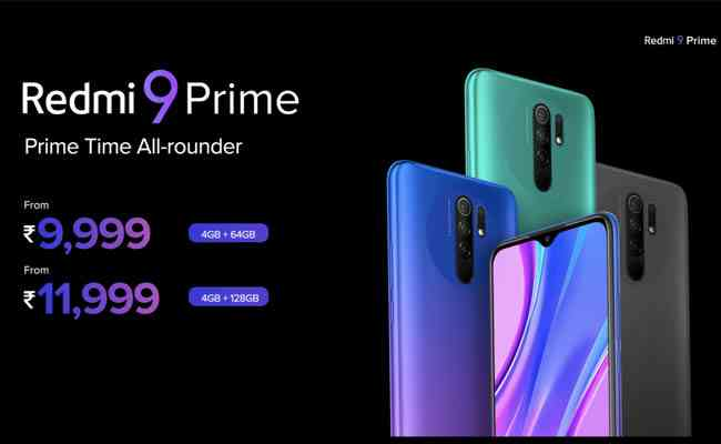 Redmi unveils the new 9 Prime - The Prime Time All-Rounder