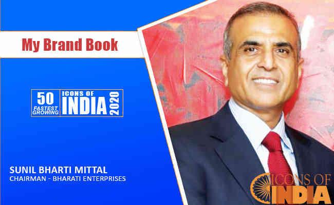 SUNIL BHARTI MITTAL,  CHAIRMAN - BHARATI ENTERPRISES
