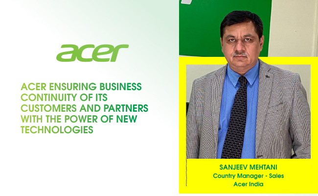 Acer ensuring business continuity of its customers and partner