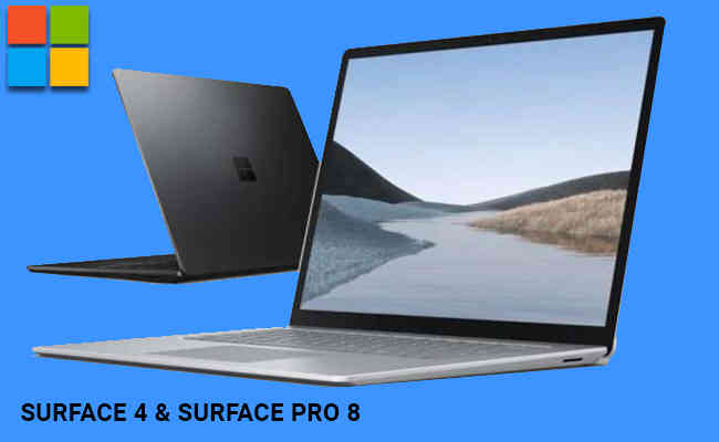 Microsoft Surface Laptop 4 and Surface Pro 8 rumoured to be la