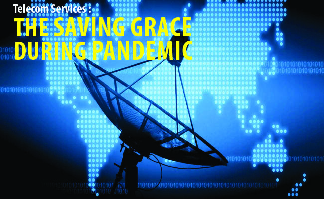 Telecom Services :  The Saving Grace During Pandemic
