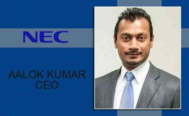 NEC appoints new CEO for India
