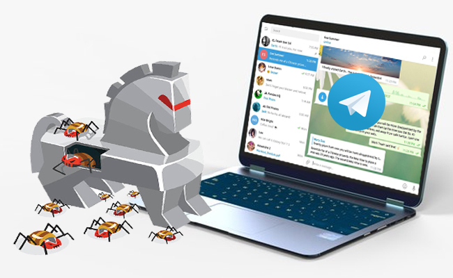 Alert issued to the Telegram users, attack from Trojan malware to mount