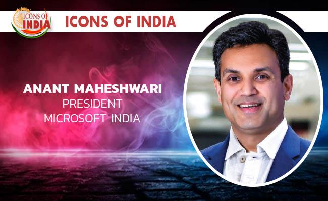 ICONS OF INDIA 2021: ANANT MAHESHWARI