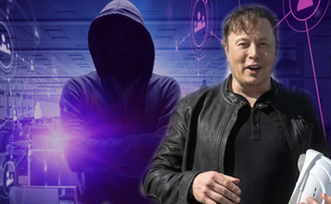 Anonymous hacker group targeted Elon Musk