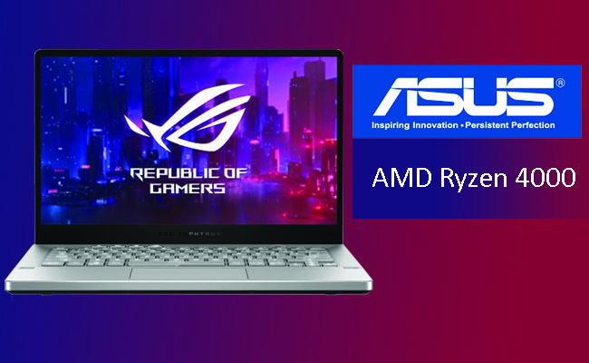 ASUS announces Zephyrus G14 laptop with AMD Ryzen 4000-series
