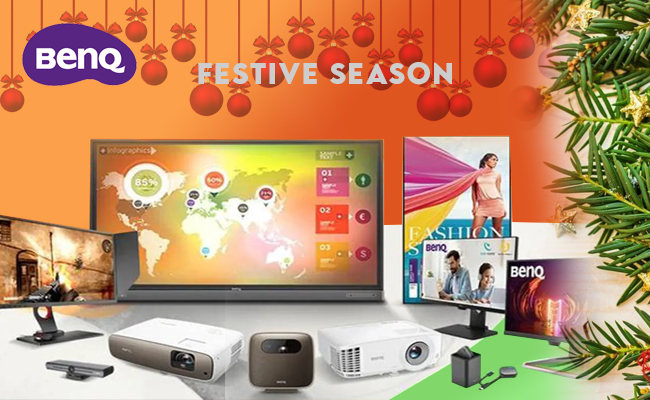 BenQ India unveils 10 new products during festive season