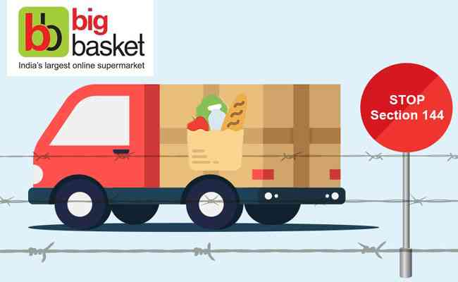 BigBasket delays and cancel orders as demand surges amid outbreak