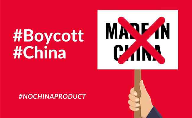 Boycott Chinese Products Hitting the Social Media Platforms