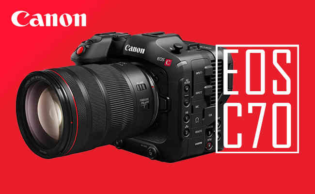 Canon announces EOS C70 camera