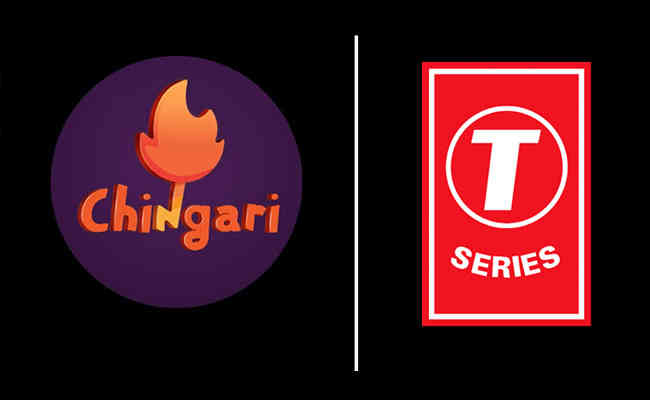 Chingari partners with T-Series
