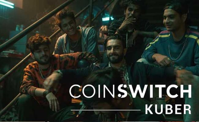 CoinSwitch Kuber onboards Ranveer Singh as its brand ambassado