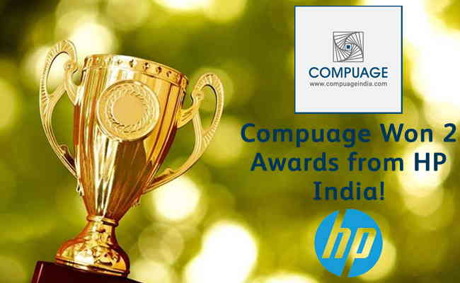 Compuage Won 2 Awards from HP India!