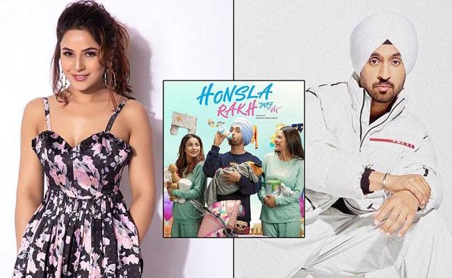 Diljit Dosanjh shares poster of 'Honsla Rakh' starring Shehnaaz Gill