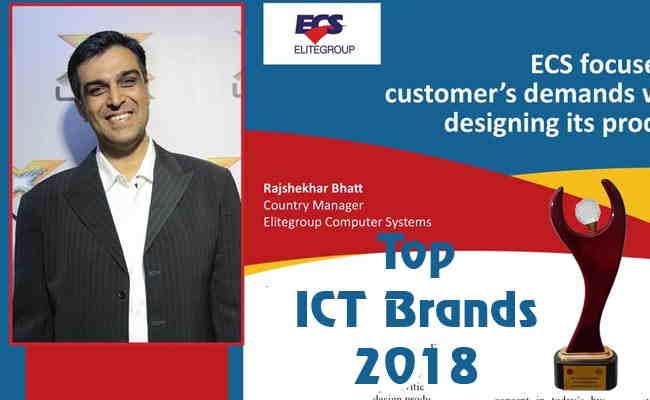 TOP ICT BRANDS 2018: ELITEGROUP COMPUTER SYSTEMS