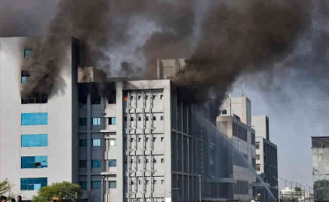 Fire breakout at Serum Institute campus, CEO confirms 'no majo