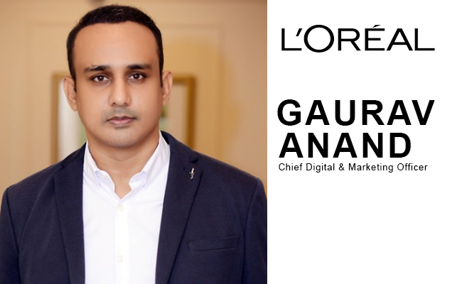 Gaurav Anand joins as chief digital and marketing officer in L'Oreal India