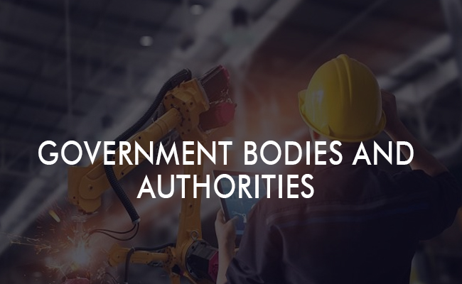 Government Bodies and Authorities
