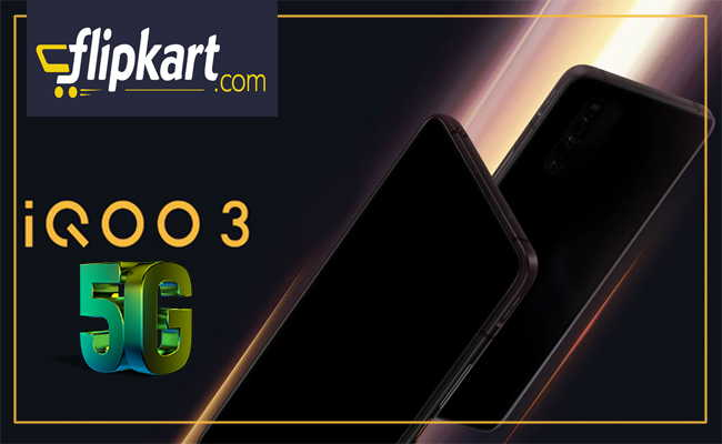 iQOO 3 powered by Snapdragon 865 will be available on Flipkart
