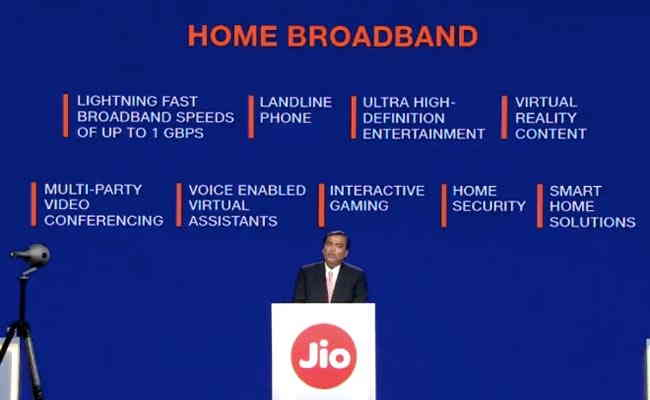 Jio to launch broadband service from Sep 5
