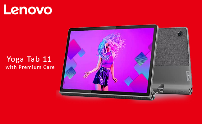 Lenovo rolls out Yoga Tab 11 with Premium Care