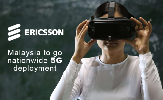 Malaysia to go nationwide 5G deployment with Ericsson