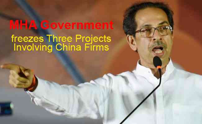 MHA Government freezes three projects involving China firms