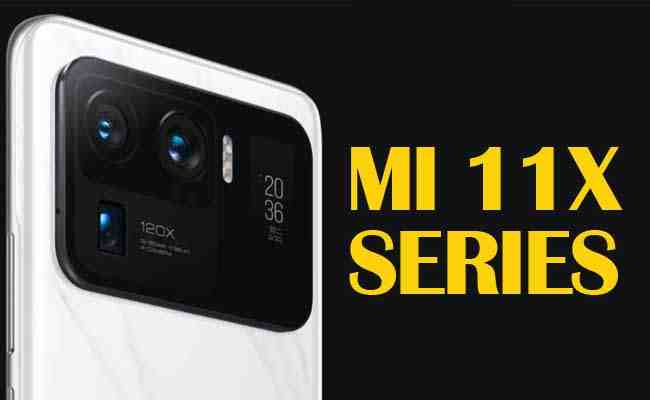 Mi India unleashes Mi 11X series