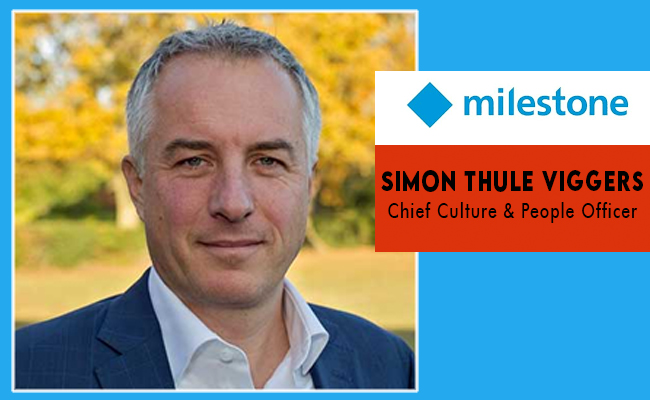Milestone Systems Welcome Simon Thule Viggers as new Chief Cul
