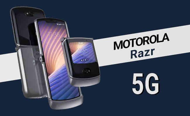 Motorola debuts foldable smartphone in India: motorola razr 5G