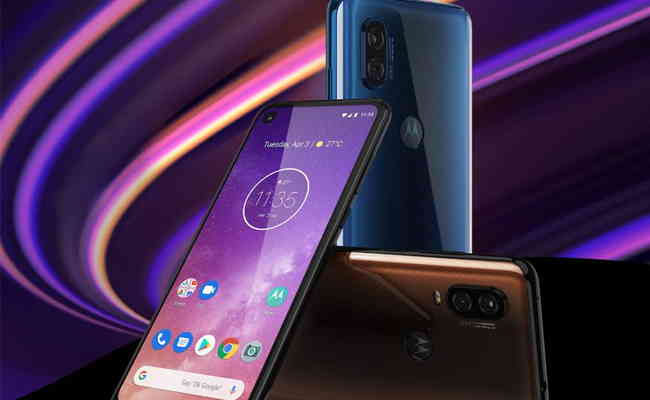 Motorola one vision: experience a new vision in Bronze Gradient, available for sale on Flipkart